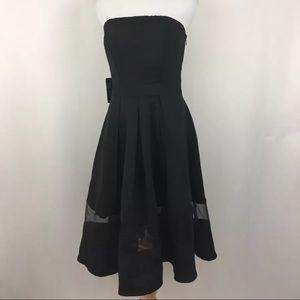 NWT Express strapless mini dress sz 4